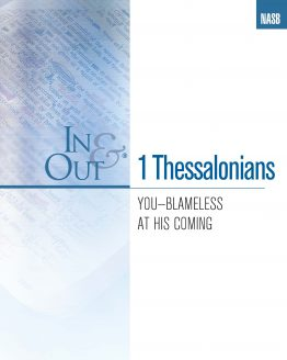 Image of cover for 1 Thessalonians In & Out - You - Blameless at His Coming