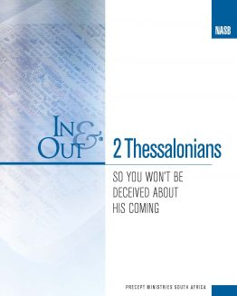 Image of cover for 2 Thessalonians In & Out - So You Won't Be Deceived About His Coming