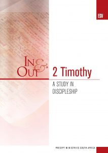 Image of cover for 2 Timothy ESV In & Out - A Study in Discipleship
