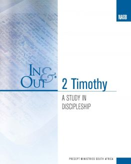 Image of cover for 2 Timothy In & Out - A Study in Discipleship