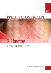 Image of cover for 2 Timothy ESV PUP - A Study in Discipleship