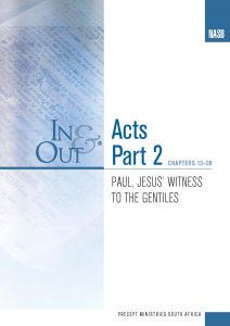 Image of cover for Acts Part 2 In & Out - Paul, Jesus' Witness to the Gentiles (Chapters 13-28)