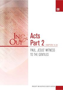 Image of cover for Acts Part 2 ESV In & Out - Paul, Jesus' Witness to the Gentiles