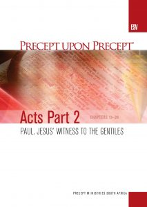 Image of cover for Acts Part 2 ESV PUP - Paul, Jesus' Witness to the Gentiles