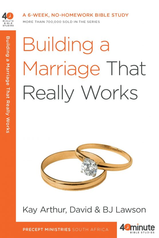Image of cover for Building a Marriage That Really Works