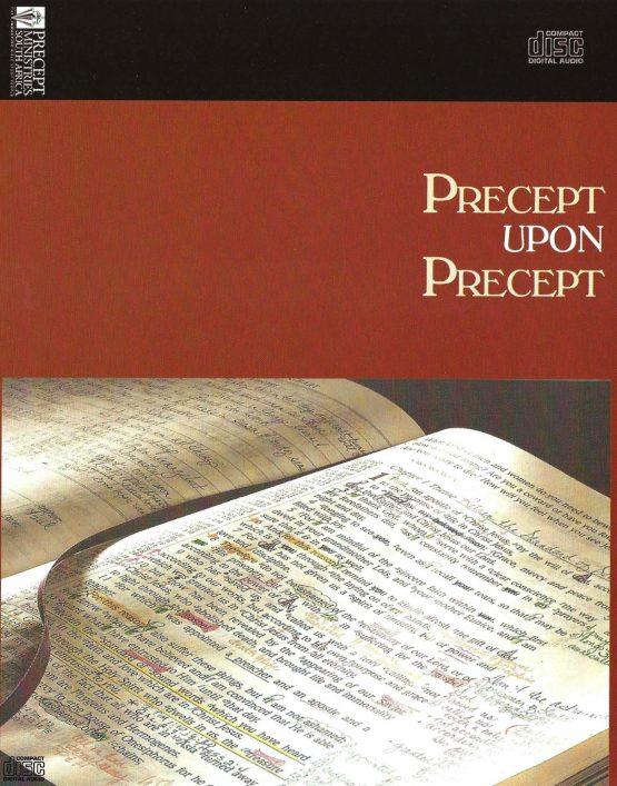 Image of Precept Bible studies CD Cover