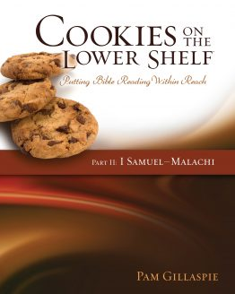 Image of cover of Cookies on the Lower Shelf Part 2 (1 Samuel - Malachi) Bible study