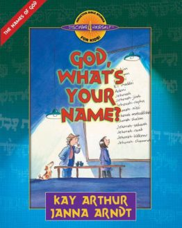 Image of cover for God, What's Your Name (Names of God) - Student Workbook