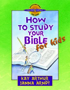 Image of cover for How to Study the Bible for Kids - Student Workbook