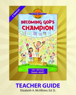 Image of cover for Becoming God's Champion (2 Timothy) - Teacher Guide