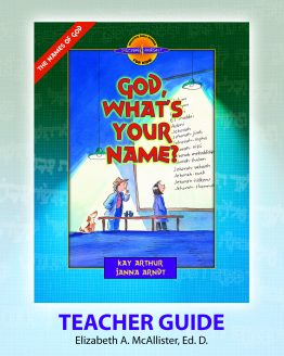 Image of cover for God, What's Your Name? (Names of God) - Teacher Guide