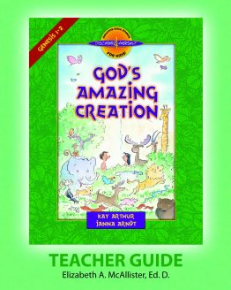 Image of cover for God's Amazing Creation (Genesis 1 - 2) - Teacher Guide