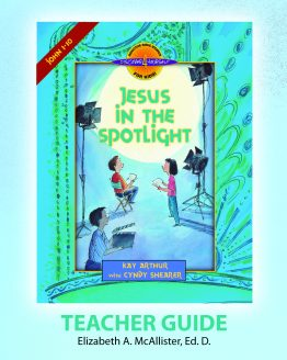 Image of cover for Jesus in the Spotlight (John 1 -10) - Teacher Guide