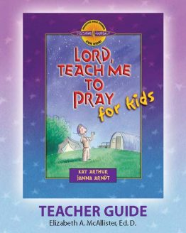Image of cover for Lord, Teach Me to Pray for Kids - Teacher Guide