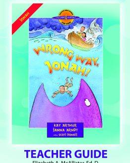 Image of cover for the Wrong Way, Jonah! (Jonah) - Teacher Guide