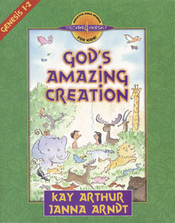 Image of cover for God's Amazing Creation (Genesis 1-2) - Student Workbook
