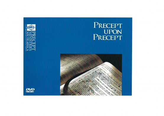 Image of Precept Bible studies DVD Cover