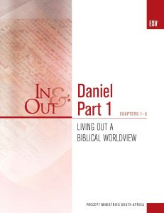 Image of cover for Daniel Part 1 ESV In & Out - Living Out a Biblical Worldview (Chapters 1-6)