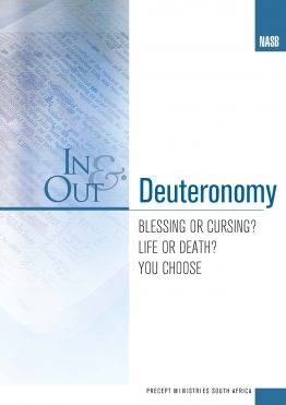 Image of cover for Deuteronomy In & Out - Blessing or Cursing? Life or Death? You Choose