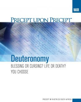 Image of cover for Deuteronomy PUP - Blessing or Cursing? Life or Death? You Choose
