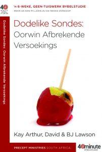 Beeld van die omslag vir die boek Dodelike Sondes: Oorwin Afbrekende Versoekings