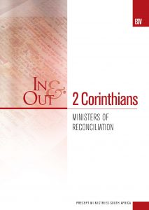 Image of cover for 2 Corinthians ESV In & Out - Ministers of Reconciliation