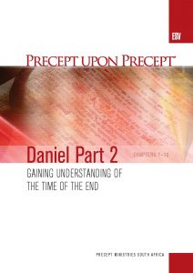 Image of cover for Daniel Part 2 ESV PUP - Gaining Understanding of the Time of the End (Chapters 7-12)