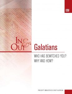 Image of cover for Galatians ESV In & Out - Who Has Bewitched You? Why and How?