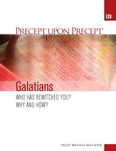 Image of cover for Galatians ESV PUP - Who Has Bewitched You? Why and How?