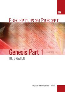 Image of cover for Genesis Part 1 ESV PUP - The Creation (Chapters 1-2)