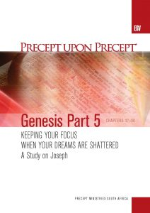 Image of cover for Genesis Part 5 ESV PUP - Keeping your focus when your dreams are shattered (Chapters 37 - 50: Joseph)