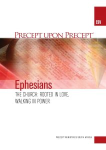Image of cover for Ephesians ESV PUP - The Church : Rooted in Love, Walking in Power