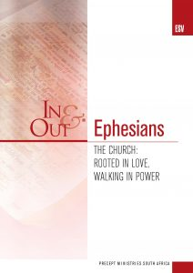 Image of cover for Ephesians ESV In & Out - The Church: Rooted in Love, Walking in Power