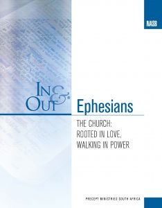 Image of cover for Ephesians In & Out - The Church: Rooted in Love, Walking in Power