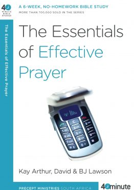 Image of cover for The Essentials of Effective Prayer
