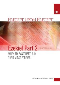 Image of cover for Ezekiel Part 2 ESV PUP - When My Sanctuary Is In Their Midst Forever