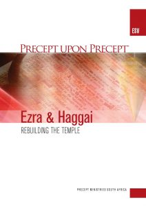 Image of cover for Ezra & Haggai ESV PUP - Rebuilding the Temple