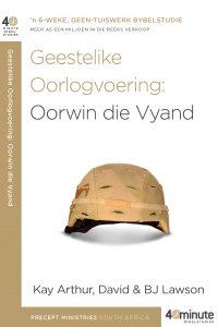 Beeld van die omslag vir die boek Geestelike Oorlogvoering: Oorwin die Vyand