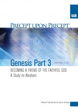 Image of cover for Genesis Part 3 PUP - Becoming the Friend of the Faithful God (Chapters 12 - 25: Abraham)