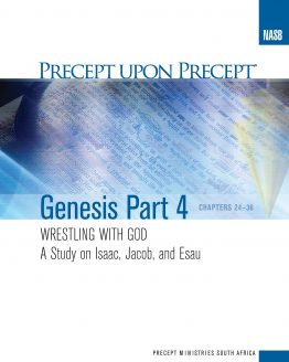 Image of cover for Genesis Part 4 PUP - Wrestling with God (Chapters 24-36: Jacob & Esau)