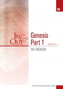 Image of cover for Genesis Part 1 ESV In & Out - The Creation - (chapters 1-2)
