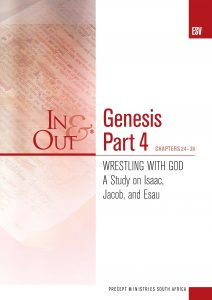 Image for cover of Genesis Part 4 ESV In & Out - Wrestling with God - A Study of Isaac, Jacob and Esau (Chapters 24-36)