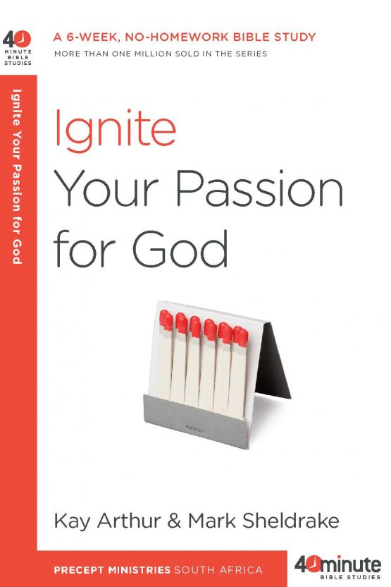 Image of cover for Ignite Your Passion for God