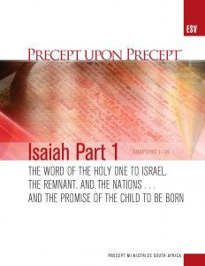 Image of cover for Isaiah Part 1 ESV PUP - The Word of the Holy One to Israel, the Remnant, and the Nations (Chapters 1-39)