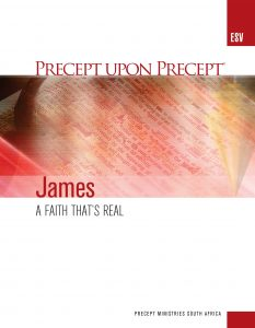 Image of cover for James ESV PUP - A Faith That's Real