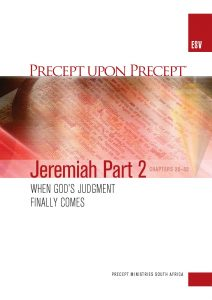 Image of cover for Jeremiah Part 2 ESV PUP - When God's Judgement Finally Comes (Chapters 25-52)