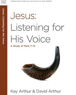 Image of cover for Jesus: Listening for His Voice