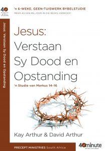 Beeld van die omslag vir die boek Jesus : Verstaan Sy Dood en Sy Opstanding