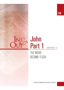 Image of cover for The Gospel of John Part 1 ESV In & Out - The Word Became Flesh (Chapters 1-6)