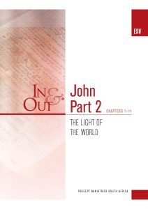 Image of cover for The Gospel of John Part 2 ESV In & Out - The Light of the World (Chapters 7-11)